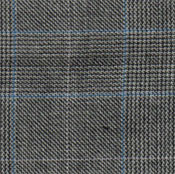 10833-4 Light Grey Plaid 2-Button Suit