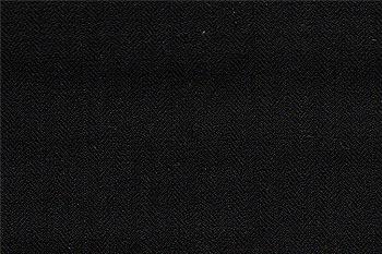 10920-1 Black Herringbone 2-Button Suit